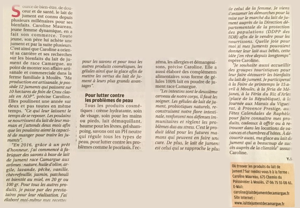 LaitDeJumentDeCamargue_La provence 2