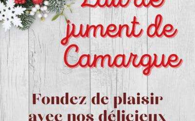 Lait de jument de Camargue pour Noël