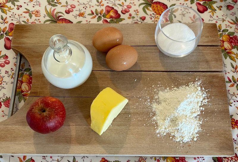 ingrédients pour recette de cuisine au lait de jument